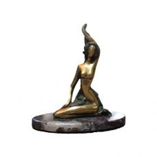 Bronze girl